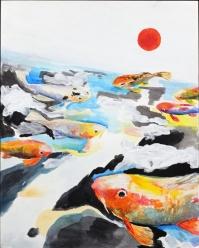 KAT FISH - 1 - 14 x 18