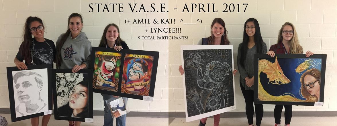 STATE VASE - PARTICIPANTS - APRIL 2017 - 9x24